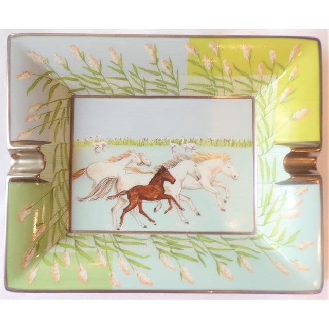 Vintage Hermes Running Horses Ashtray / Catchall For Sale - Image 11 of 11