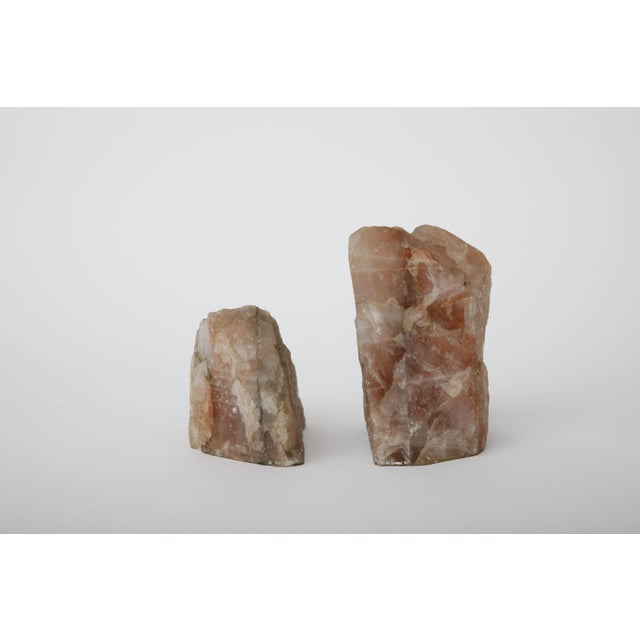 Rose Quartz Bookends - Pair - Image 2 of 4