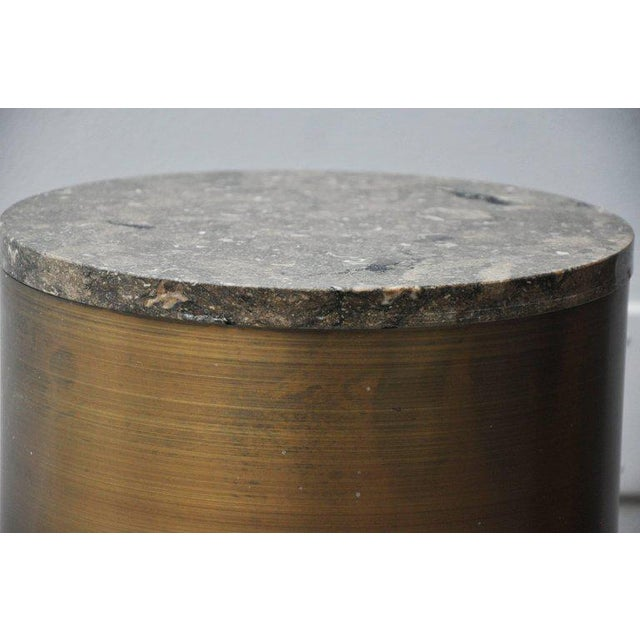 Stone Paul Mayen Storage Side Tables For Sale - Image 7 of 8