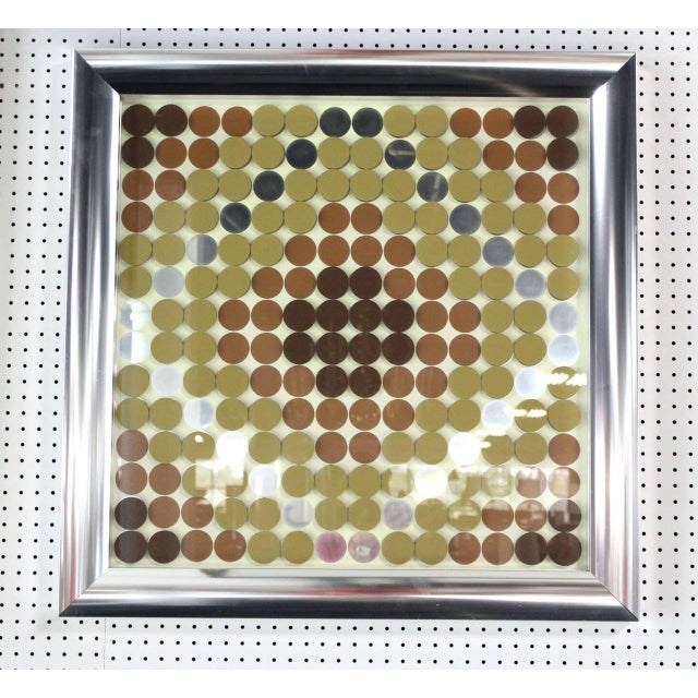 Three Dimensional 3D Wall Hanging Plaque Art For Sale In New York - Image 6 of 6