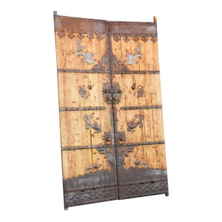 19th Century Temple Doors - a Pair For Sale