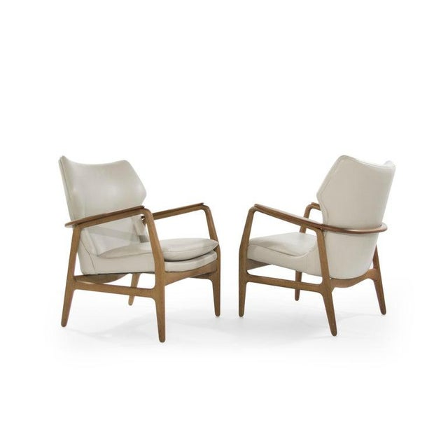 Mid 20th Century Teak Lounge Chairs by Aksel Bender Madsen for Bovenkamp - a Pair For Sale - Image 5 of 13