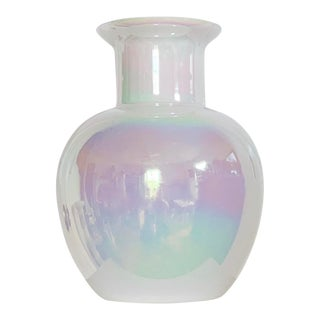 Vintage Hand Blown Cambridge Glass Vase For Sale