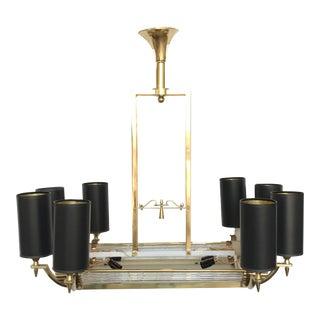 Atelier Petitot Twelve-Light Chandelier For Sale