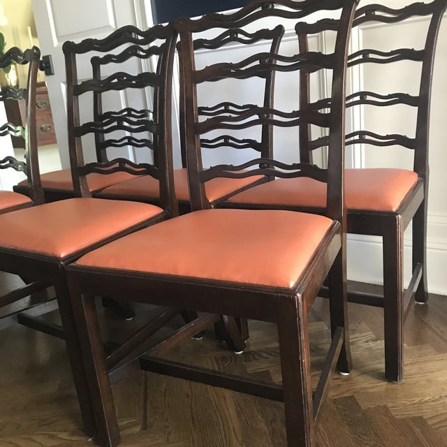 Chippendale Ribbon Back Dining Chairs - Set of 8 For Sale In Tampa - Image 6 of 8