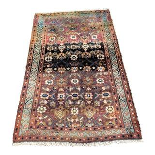 "Vintage Persian Hamadan Rug - 3'4"" x 5'5"" For Sale"