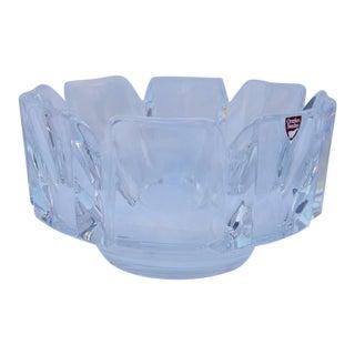 Orrefors Crystal Glass Bowl For Sale