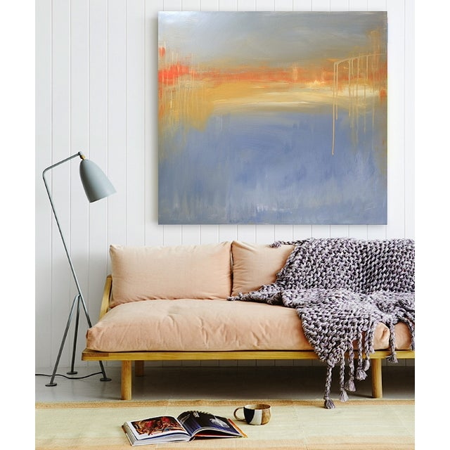 'FiRE iSLAND' Original Abstract Painting - Image 2 of 7