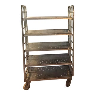 Mid Century Industrial Shelves For Sale