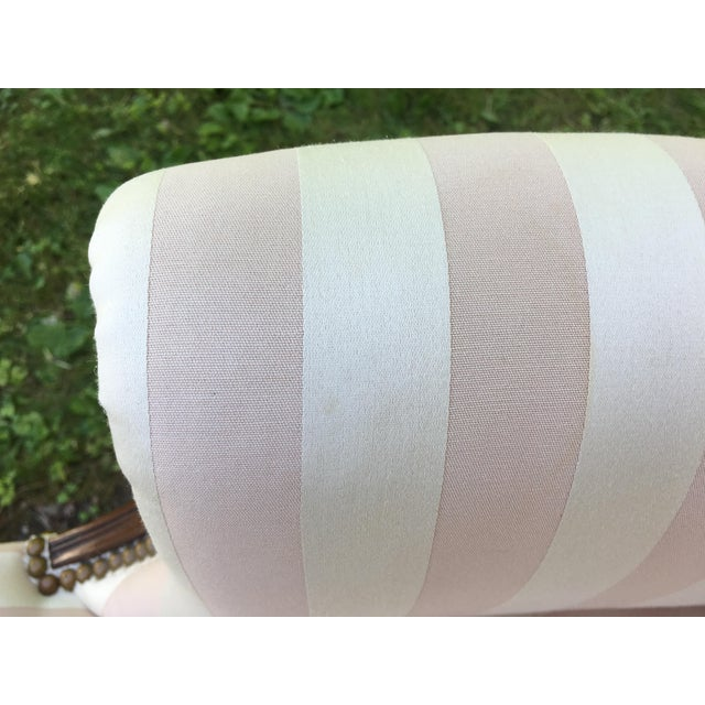 Late 20th Century Striped Perfection Chair For Sale - Image 12 of 13