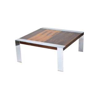 1960s Mid-Century Modern Milo Baughman Rosewood Coffee Table For Sale