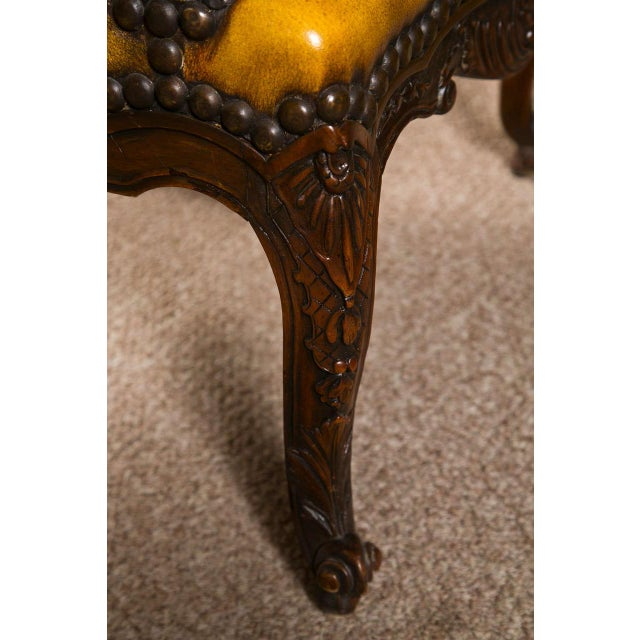 English Georgian Walnut Armchair For Sale In New York - Image 6 of 9