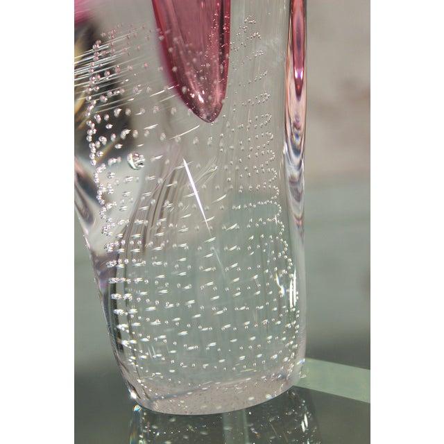 Pavel Juda Czech Art Glass Vase - Image 7 of 10