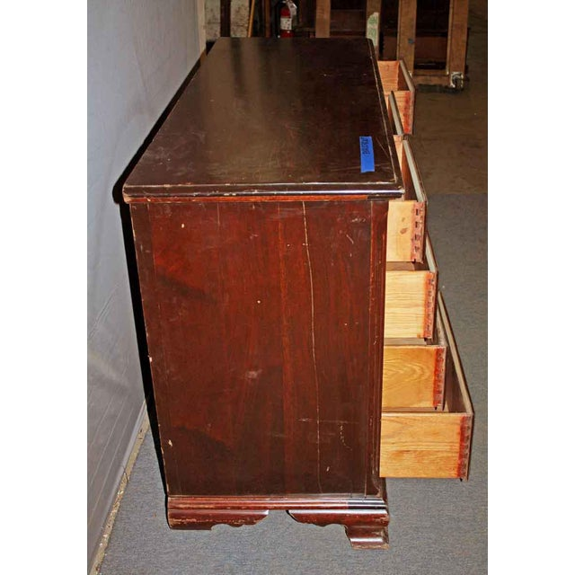 American Colonial Style Solid Mahogany Dresser - Image 2 of 4