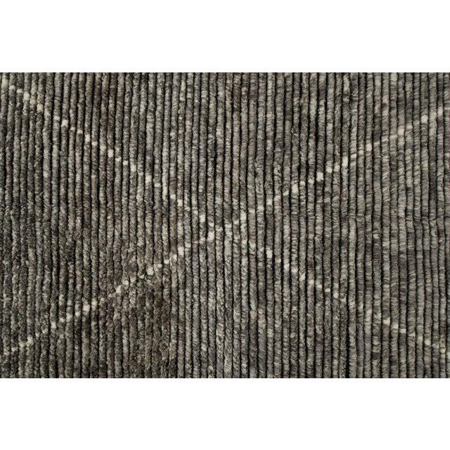 "Stark Studio Rugs Stark Studio Rugs Baha Rug in Greystone, 10'0"" x 14'0"" For Sale - Image 4 of 5"