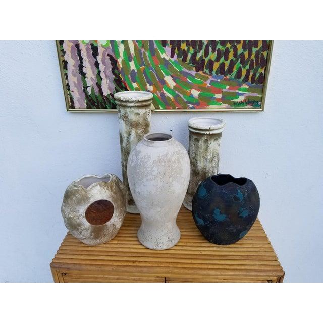 Tony Evans Art Raku Vase For Sale - Image 9 of 10
