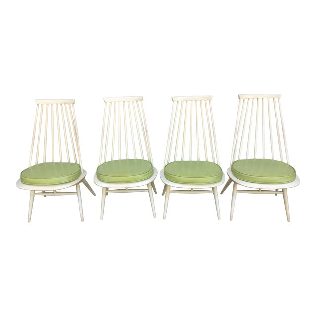 'Mademoiselle' Lounge Chair by Ilmari Tapiovaara for Edsby Verken - Set of 4 For Sale