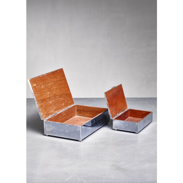 Art Deco Pair of Art Deco Boxes, Germany, 1930s For Sale - Image 3 of 3
