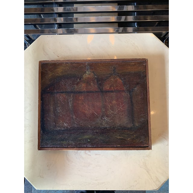 Late 20th Century Pair of Pears Still Life Painting For Sale In Seattle - Image 6 of 6
