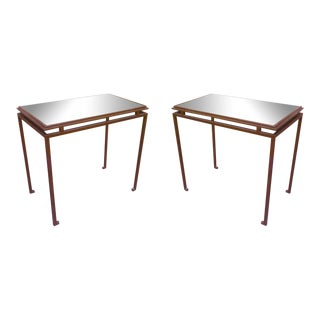 Maison Ramsay Pure Design Pair of Side or Coffee Tables For Sale