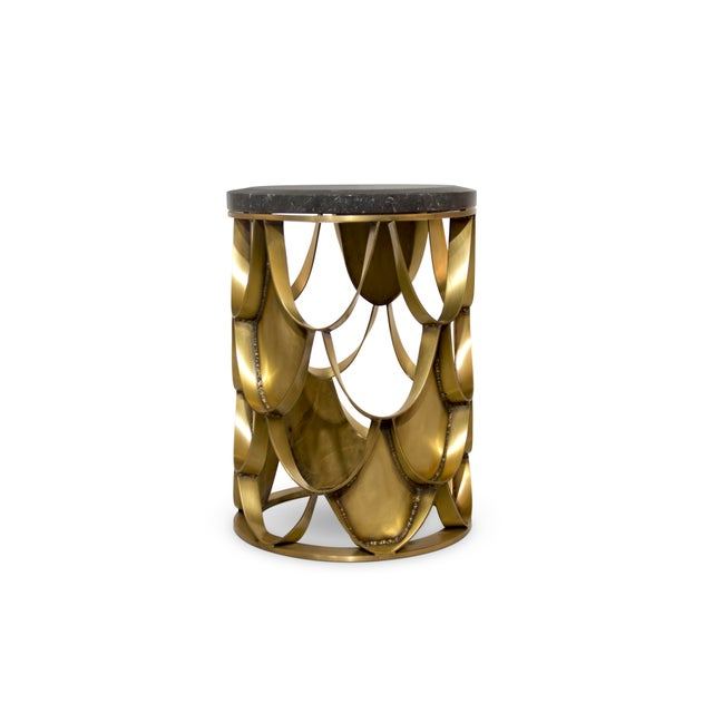 Not Yet Made - Made To Order Koi Side Table From Covet Paris For Sale - Image 5 of 9