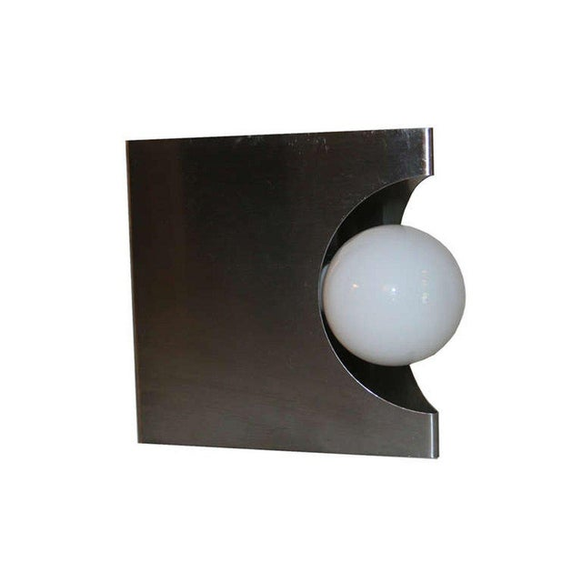 Modernist Pair of European Wall Sconces - Image 2 of 6