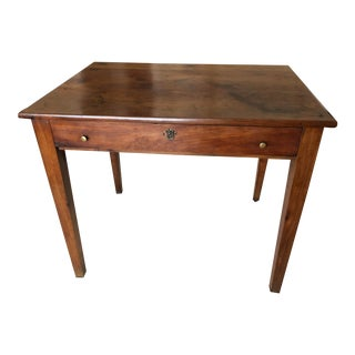 Antique French Side Table With One Drawer For Sale