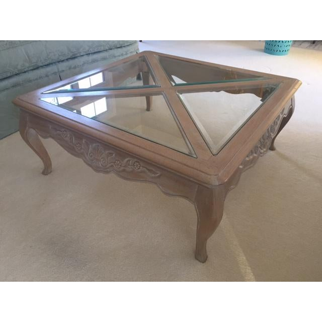 Pennsylvania House Square French Style Coffee Table For Image 5 Of 11