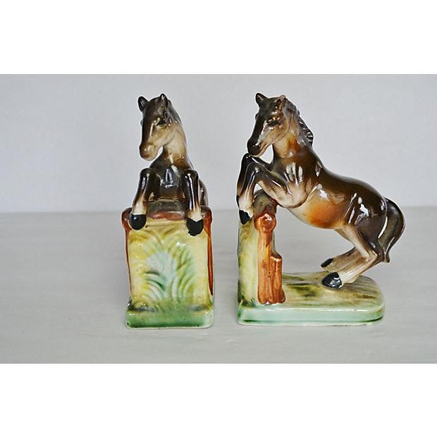 Vintage Equestrian Bookends - A Pair - Image 2 of 2