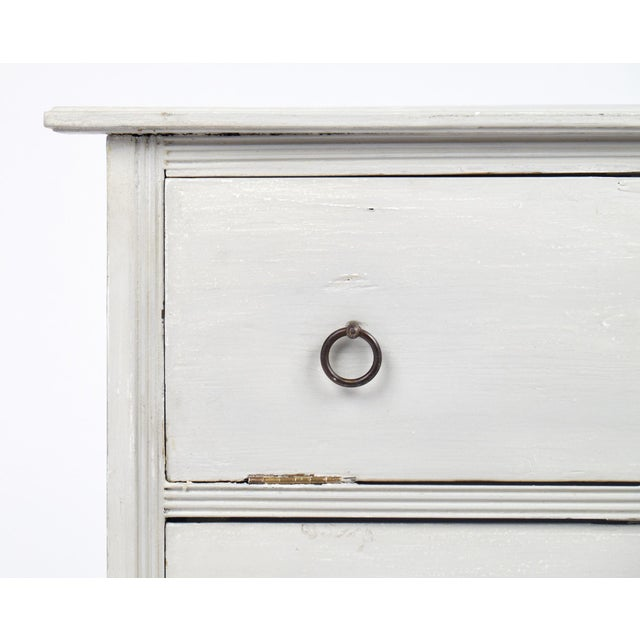 19th Century French Painted Filing Cabinet - Image 6 of 9