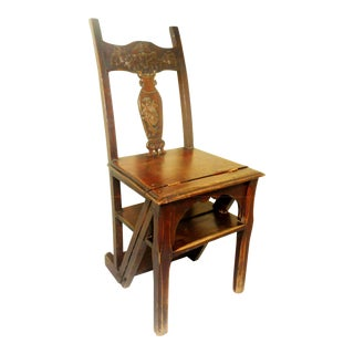 19th Century Chinese Folding Chair For Sale
