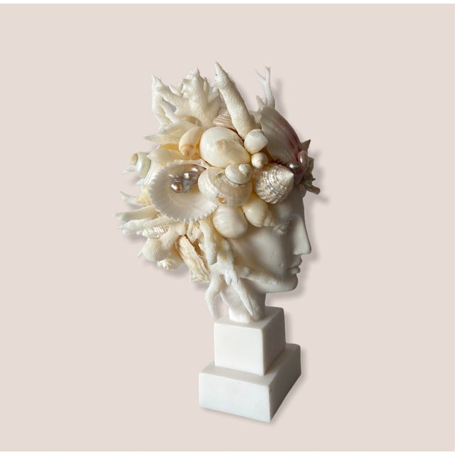 Hygiea, Goddess of health and wellbeing is a great addition to anyone's home right now. This tiny seashell rendition of...