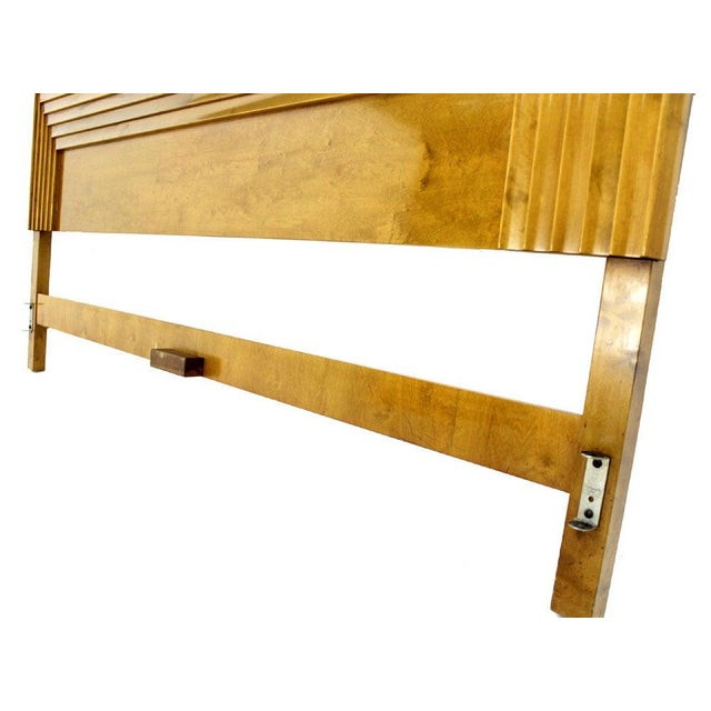 Mid 20th Century Edmond Spence Solid Birch Swedish King Size Headboard Bed For Sale - Image 5 of 11