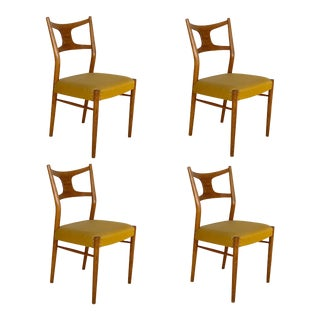 Kurt Østervig Mod. 46 Danish Mid Century Modern Dining Chairs - Set of 4 For Sale