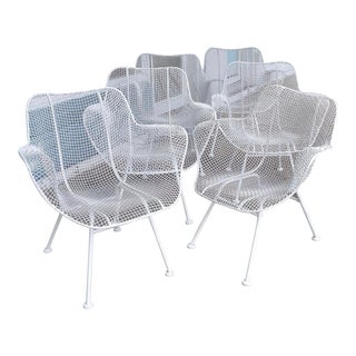 "Set of 6 Russell Woodard ""Sculptura"" Armchairs For Sale"