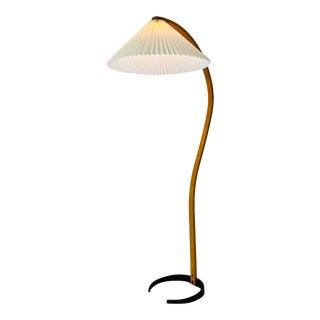 1970s Caprani Bentwood Floor Lamp For Sale
