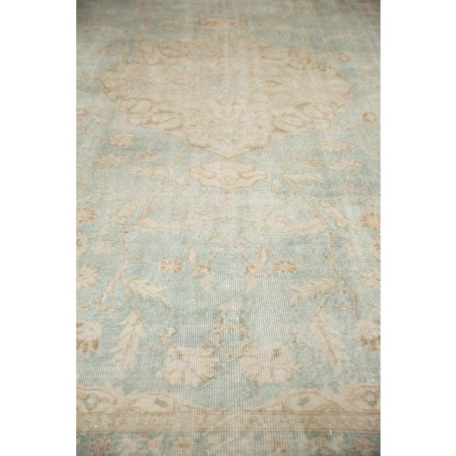 "Vintage Distressed Sivas Carpet - 8'7"" X 11'1"" For Sale - Image 10 of 12"