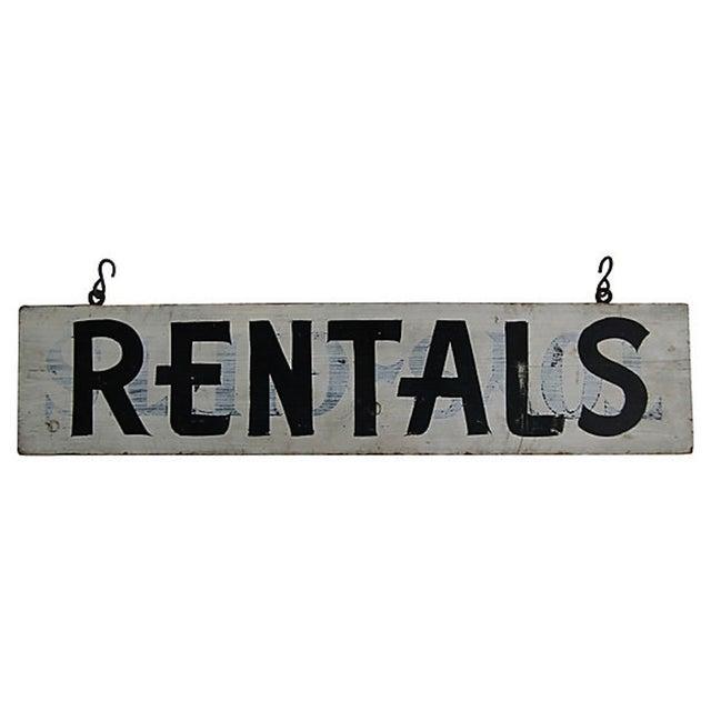 Vintage Rentals Sign - Image 1 of 2