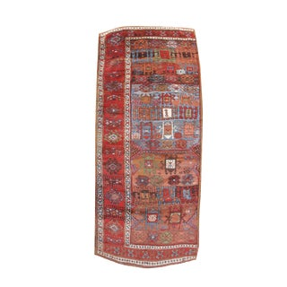 Kurdish Divan Cover Rug - 3′5″ × 8′1″ For Sale