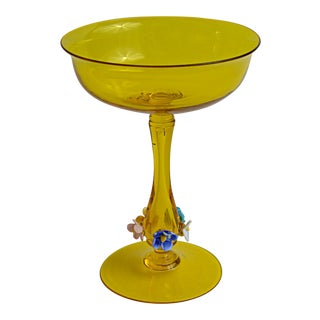 Handblown Venetian Tazza For Sale