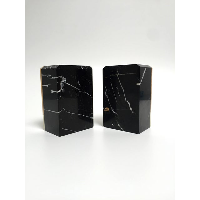 Post-Modern Marble Bookends - A Pair - Image 6 of 9
