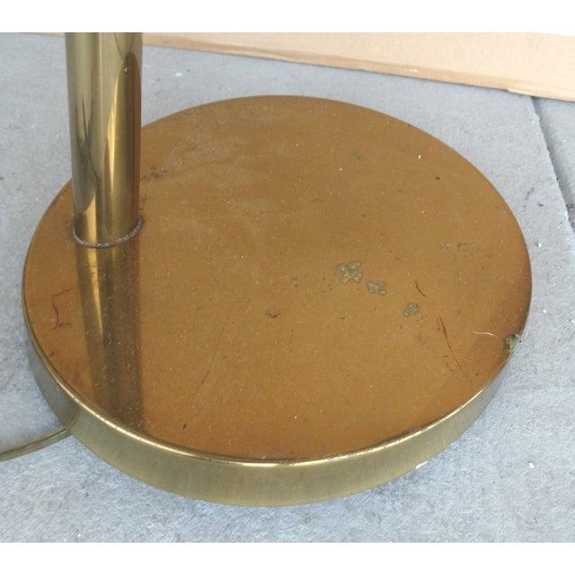 Koch & Lowy Brass Swing Arm Floor Lamp - Image 11 of 11