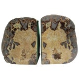 Image of Pair of Geode Bookends For Sale