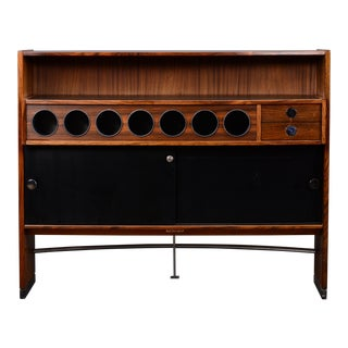 1960s Mid Century Rosewood Bar by Dyrlund Danish Modern For Sale
