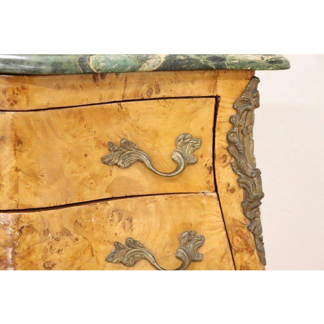20th Century Italian Venetian Louis XV Style in Wood Burl - a Pair For Sale - Image 4 of 13