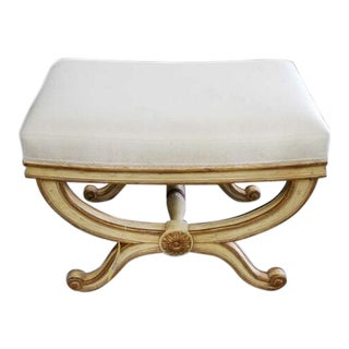 Signed Michael Taylor D'Orsay Stool or Bench