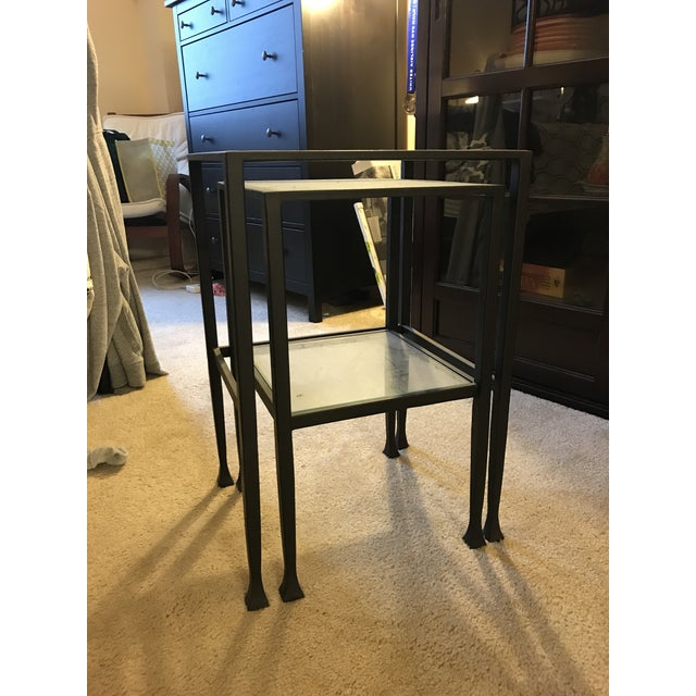Pottery Barn Tanner Nesting Side Tables - A Pair - Image 4 of 6