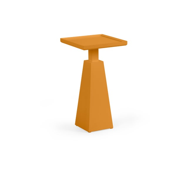 Transitional Casa Cosima Hayes Spot Table, Dash of Curry For Sale - Image 3 of 3
