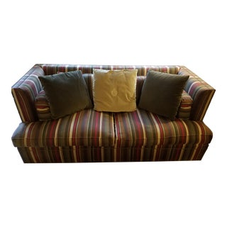 Henredon Acquisitions High-Back Sofa For Sale
