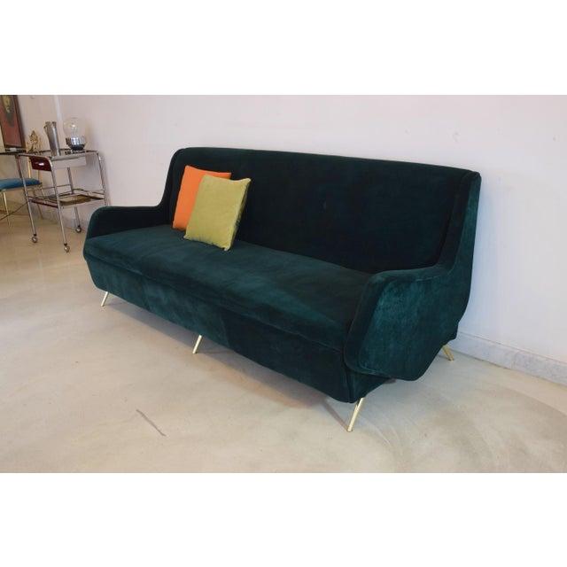 Mid 20th Century Italian Vintage Midcentury Sofa, 1950s For Sale - Image 5 of 12
